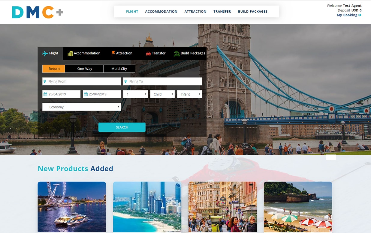 DMC+ Software for Local DMC and B2B Travel Wholesaler