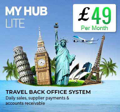 My Hub Lite Software for Travel Agency