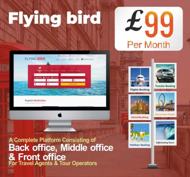 Flying Bird Software for Travel Agents & Tour Operators