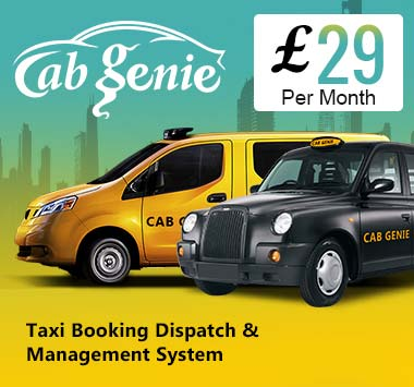 Cab Genie Software - Taxi Booking Software