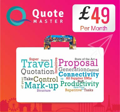 Quote Master Software for Travel Agencies & Tour Operators