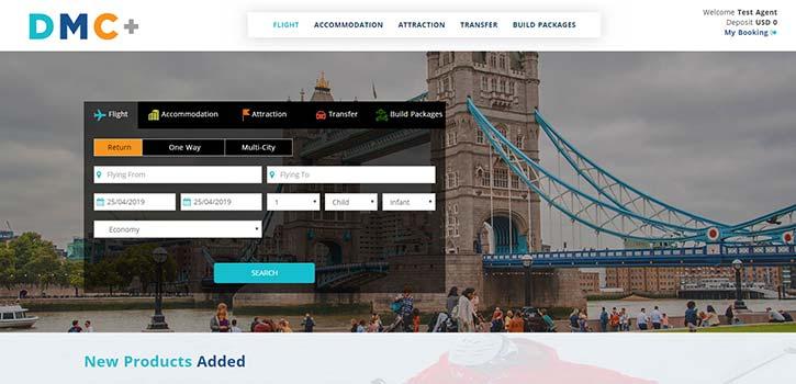 DMC+ Software for Local DMC and B2B Travel Wholesaler